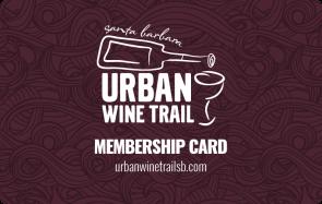 Santa Barbara Urban Wine Trail Membership Card