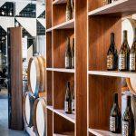 wine selection at Potek Winery