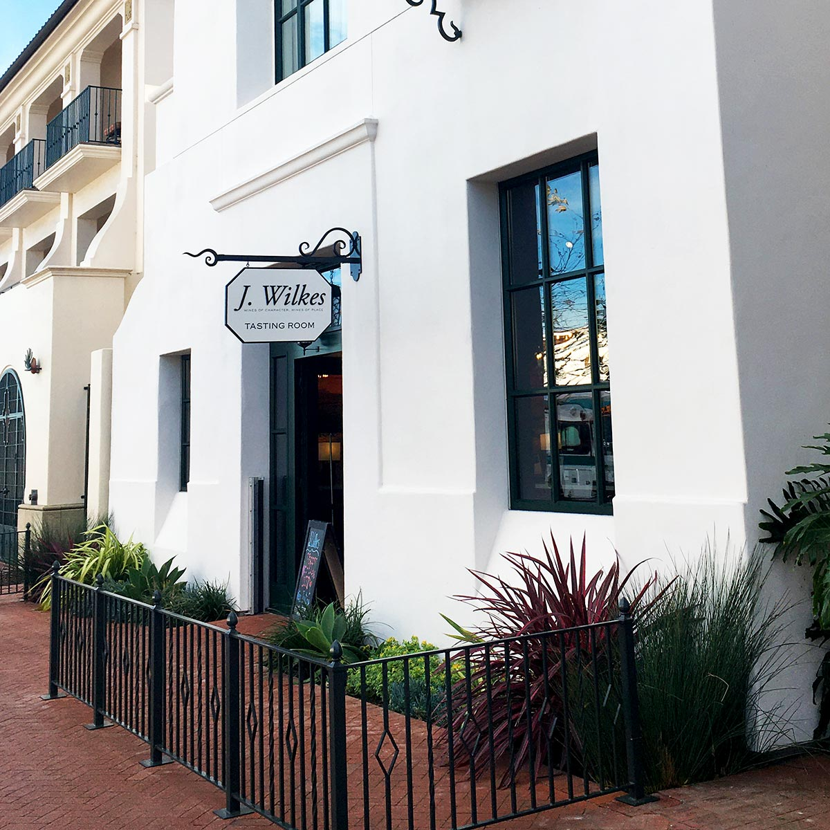J. Wilkes Winery Tasting Room in Santa Barbara