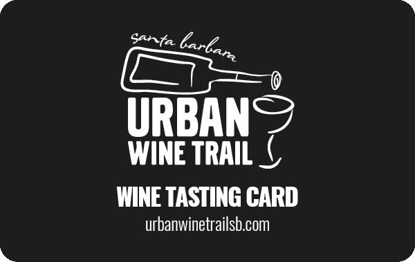 Urban Wine Trail Tasting Card