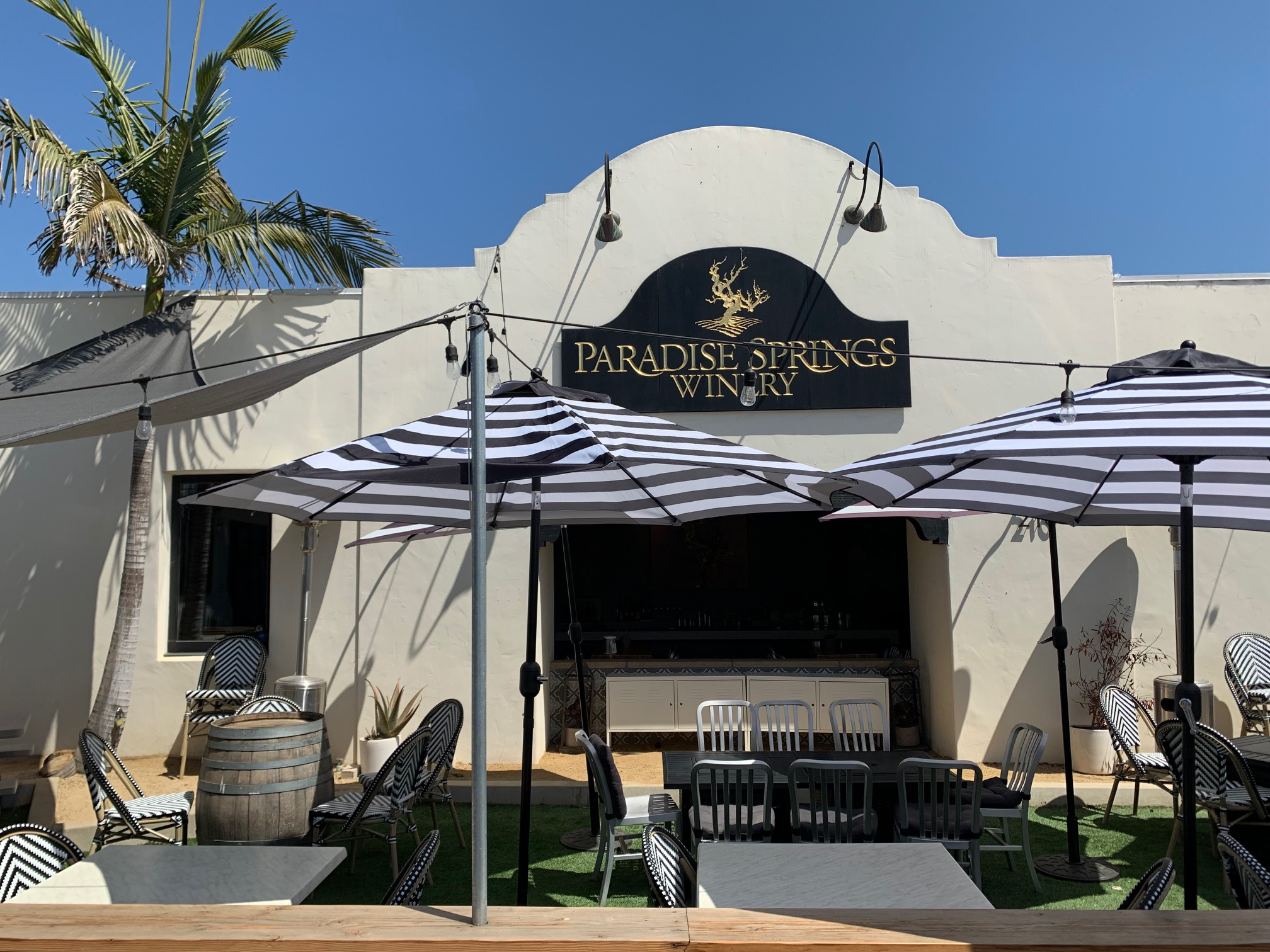 Paradise Springs Winery in Santa Barbara, CA