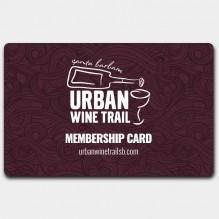 Urban Wine Trail Membership Card