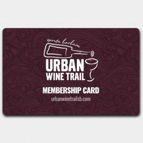 Membership Card - Santa Barbara Urban Wine Trail